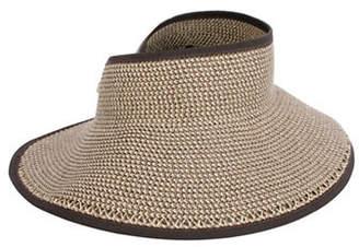 Nine West Packable Roll-Up Sun Visor Hat