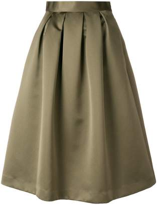 P.A.R.O.S.H. pleated midi skirt
