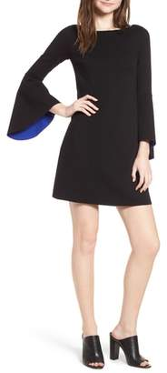 Bailey 44 Bell Sleeve Ponte Shift Dress