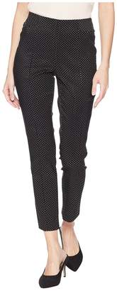 Tribal Mini Dot Jacquard 28 Pull-On Ankle Pants Women's Casual Pants