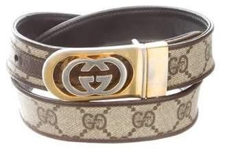 Gucci Vintage GG Supreme Belt