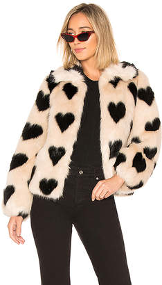 Cullen Shrimps Faux Fur Jacket