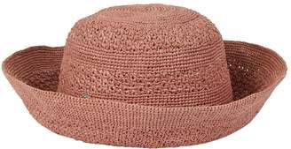 Helen Kaminski Raffia Turn-Up Sun Hat