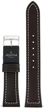 Alpina Unisex ALE-DBR22X18-SS E-Strap Analog-Digital Display Swiss Quartz Blue Watch