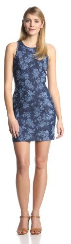 Dolce Vita Women's Hillsa Floral-Denim Dress