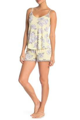PJ Salvage Sunshine Days Patterned Pajama Shorts