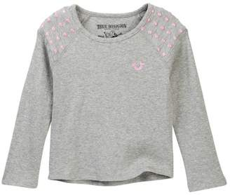 True Religion Long Sleeve Thermal Tee (Little Girls)