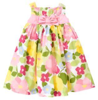 Crazy 8 Bow Sash Floral Dress