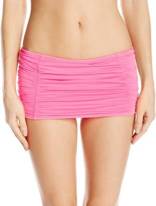 Coco Rave Junior's Rollover Skirted Bikini Bottom Swimsuit