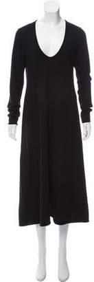 Alexander Wang Wool Long Sleeve Dress