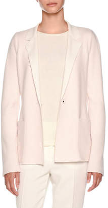 Agnona Cashmere Platino Light Jacket
