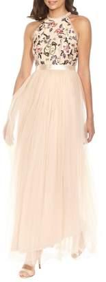 TFNC Cydney Sequin Bodice Gown