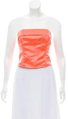 Chanel Silk Bustier Top