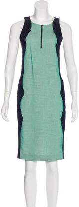 Veronica Beard Scoop Neck Knee-Length Dress