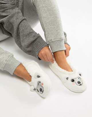 Sock Shop Polar Bear Slipper
