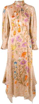 Peter Pilotto floral embroidered dress