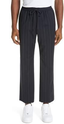 Juun.J Drawstring Pinstripe Pants
