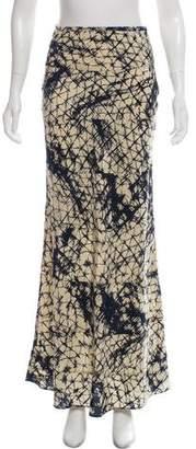 Gryphon Silk Maxi Skirt