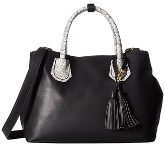 Steve Madden Baudrina Snake Tote $98 thestylecure.com