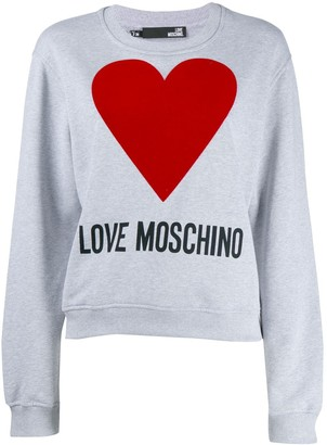 Love Moschino loose-fit logo sweatshirt