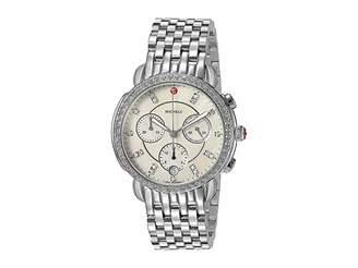 Michele Sidney Diamond Dial Watch