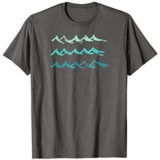Vintage beach tshirt Ocean lover gifts Beach waves t shirt