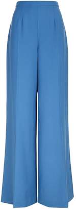 DELPOZO Wide Leg Tailored Trousers