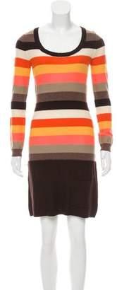Sonia Rykiel Lightweight Wool Sweater Dress