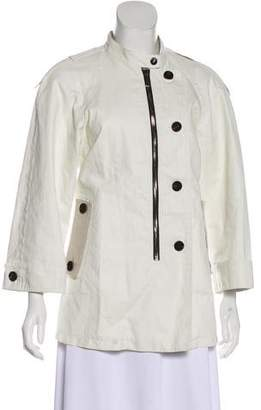 Barbara Bui Casual Linen Jacket