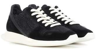 Rick Owens Suede sneakers