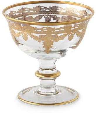 Arte Italica Vetro Gold Compote