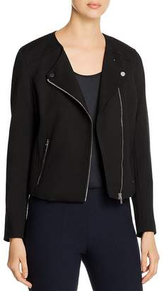 Bagatelle Ponte Knit Moto Jacket