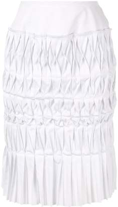 Comme des Garcons Junya Watanabe Pre-Owned pleated origami skirt
