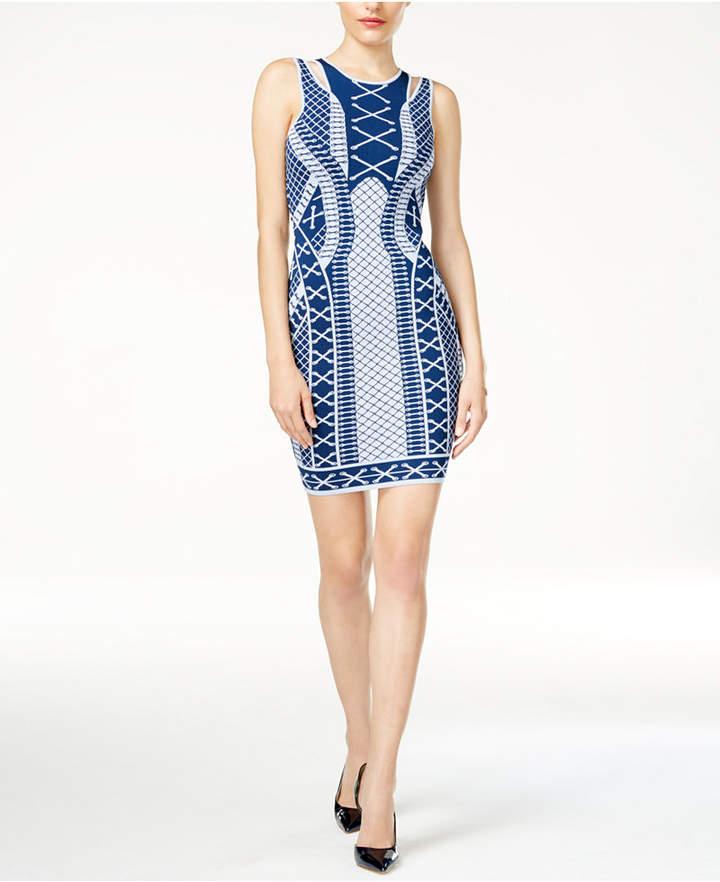 Guess Clara Printed Bodycon Dress