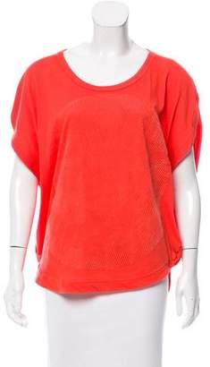 adidas by Stella McCartney Oversize Short Sleeve Top