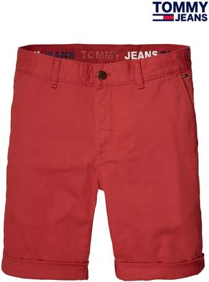 Next Mens Tommy Jeans Red Basic Freddy Short