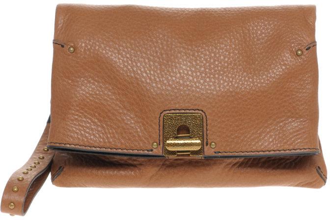 Ameko Travis Leather Clutch Bag