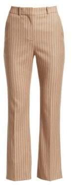 Altuzarra Adler Cropped Pinstripe Pants