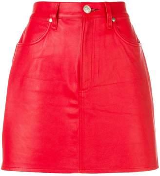 Rag & Bone Jean a-line mini skirt