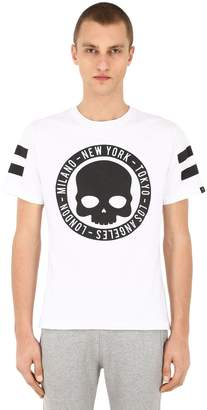 Hydrogen Circle Cities Cotton T-Shirt