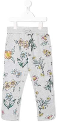 Stella McCartney floral print sweat pants