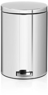 Brabantia 5.3 Gallon Pedal Bins with Motion-Control Lids and Compost Buckets
