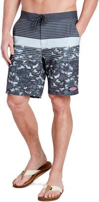 c93ffc78885 Vineyard Vines Gray Camo Stripe Stretch Board Shorts