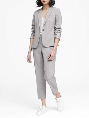 Banana Republic Classic-Fit Birdseye Blazer