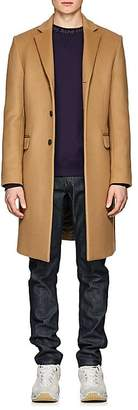 Acne Studios Men's Gavin Wool-Blend Melton Three-Button Coat