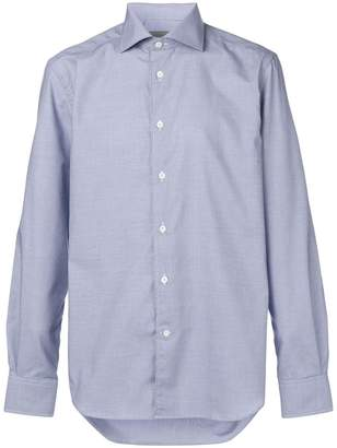 Corneliani long-sleeve fitted shirt