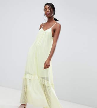 Vero Moda Tall Chiffon Maxi Cami Dress