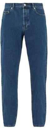 A.P.C. Standard Straight Leg Cotton Jeans - Mens - Blue