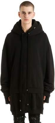 Burton Mjb - Marc Jacques Hooded Geminus Printed Sweatshirt