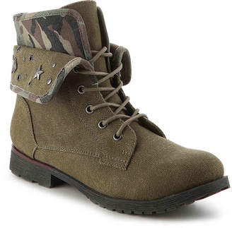 Rock & Candy Spraypaint Combat Boot - Women's